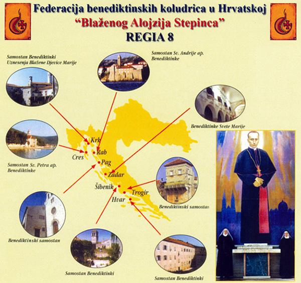 Benediktinski red u Hrvatskoj